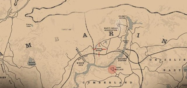 Red Dead Redemption 2 - All Jack Hall Gang Treasure Map Locations and Solutions