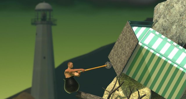 Getting Over It with Bennett Foddy - Teleport Mod (Easy Mode)